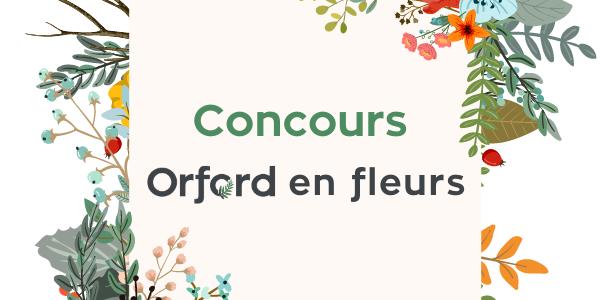 Concours Orford en fleurs