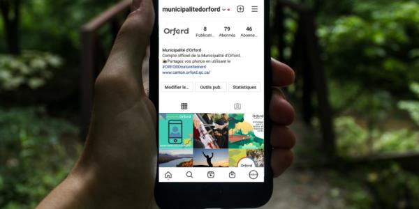 Orford maitenant sur Instagram